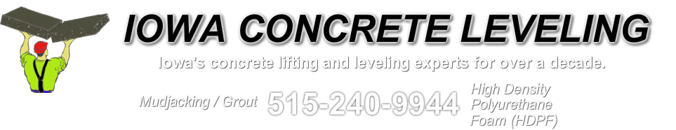 IOWA CONCRETE LEVELING